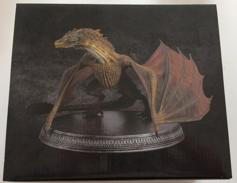 game of thrones official collector s models premium dragon. Black Bedroom Furniture Sets. Home Design Ideas